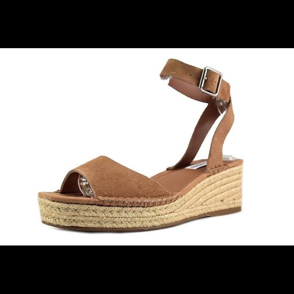 2f76d785ee3 Steve Madden Elody Tan Suede Shoes Size 10 NWT